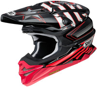 Shoei VFX-Evo Grant Black/Red Helmet