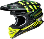 Shoei VFX-Evo Grant Black/Yellow Helmet