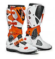 Sidi Crossfire 3 TA Orange/White/Black Boot