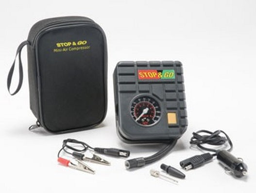 Stop & Go Portable Mini Air Compressor