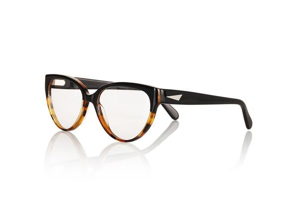 Cannes Opticals in Dark Tortoiseshell and Black