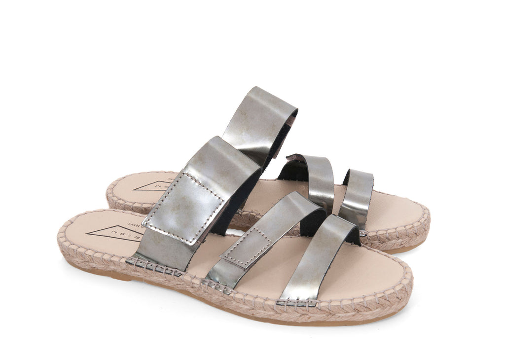 Metal [Silver] Sandals