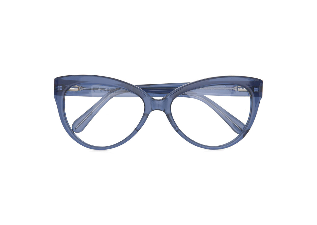 Translucent Dark Blue Optical