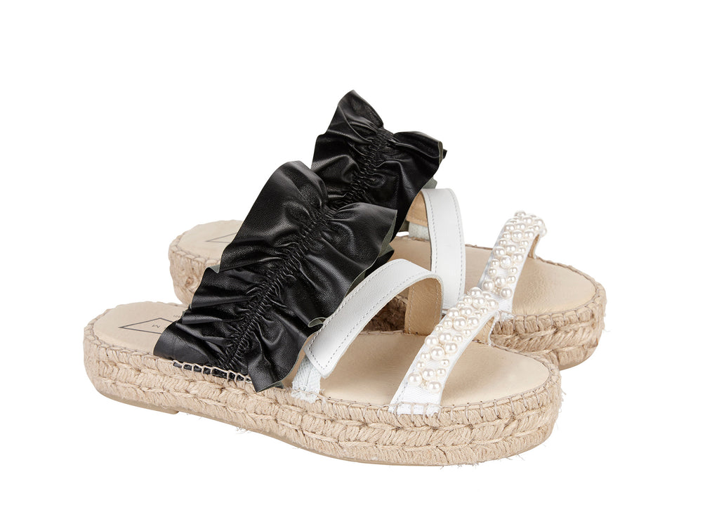 PRISM x Mother Of Pearl Curacao Sandals
