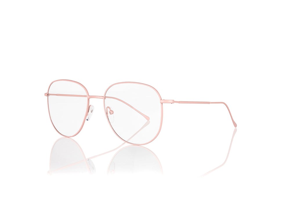 Matte Pink Metal Optical