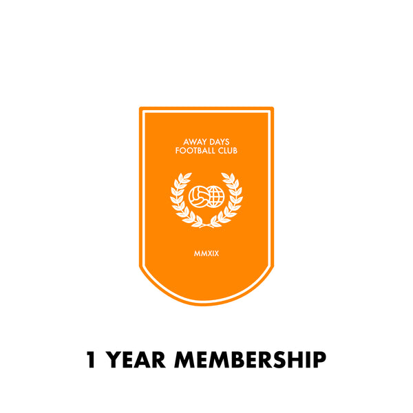 Away Days FC Membership 1 Year