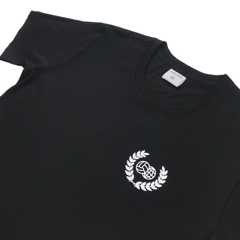 Wreath Logo T-Shirt Black