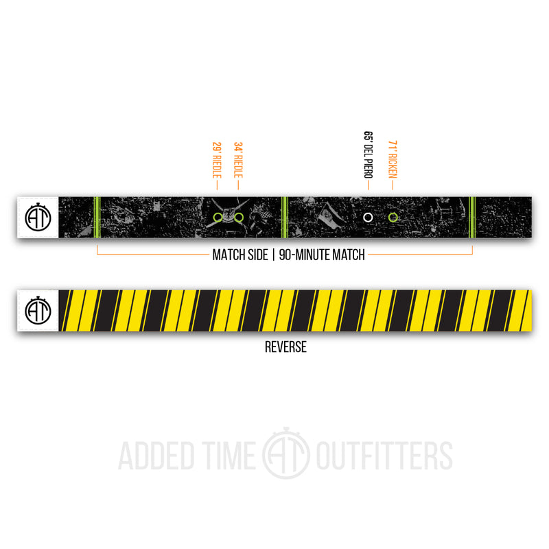 Black and Yellow Forever Wristband