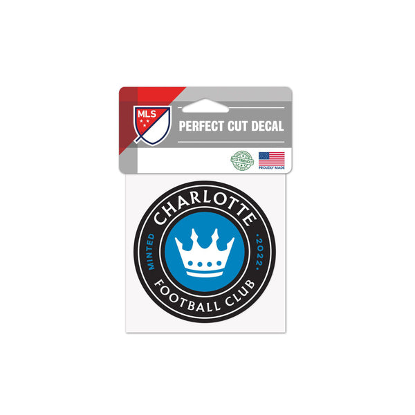 "Charlotte FC 4""x4"" Decal"