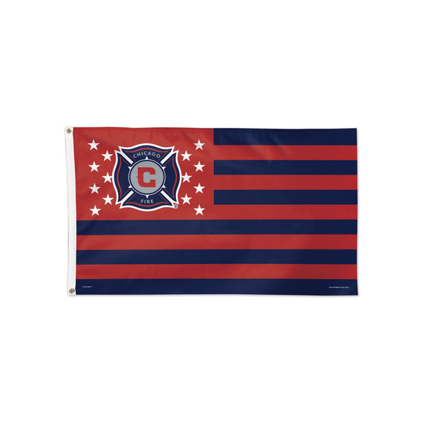 Chicago Fire Americana Flag