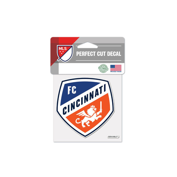 "FC Cincinnati 4""x4"" Decal"