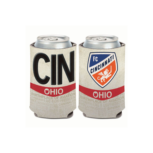 FC Cincinnati License Plate Can Cooler