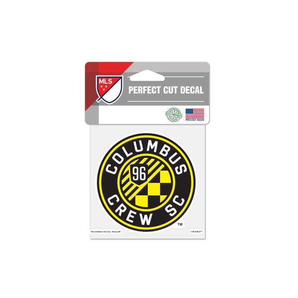 "Columbus Crew SC 4""x4"" Decal"