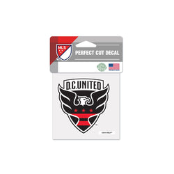 "DC United 4""x4"" Decal"