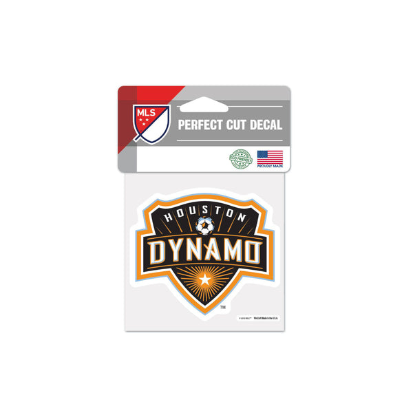 "Houston Dynamo 4""x4"" Decal"