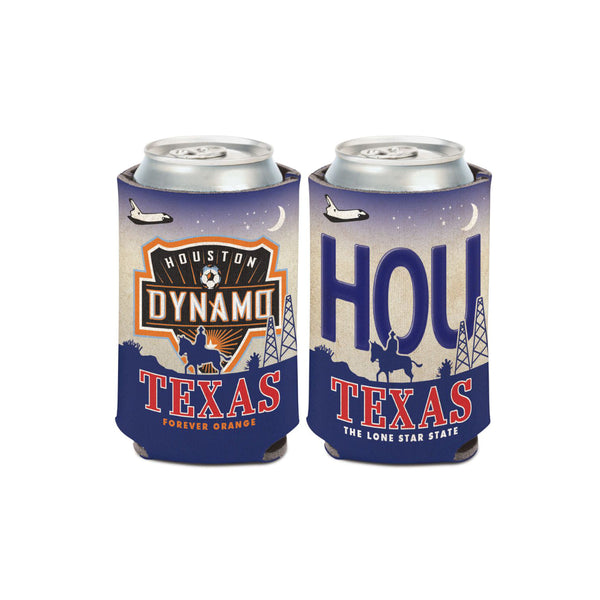 Houston Dynamo License Plate Can Cooler