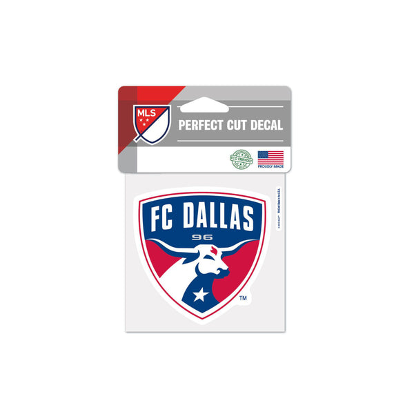 "FC Dallas 4""x4"" Decal"