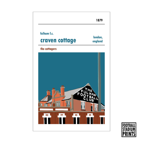 Craven Cottage Print