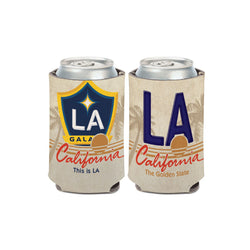 LA Galaxy License Plate Can Cooler