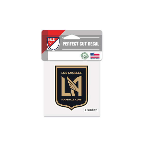 "Los Angeles FC 4""x4"" Decal"