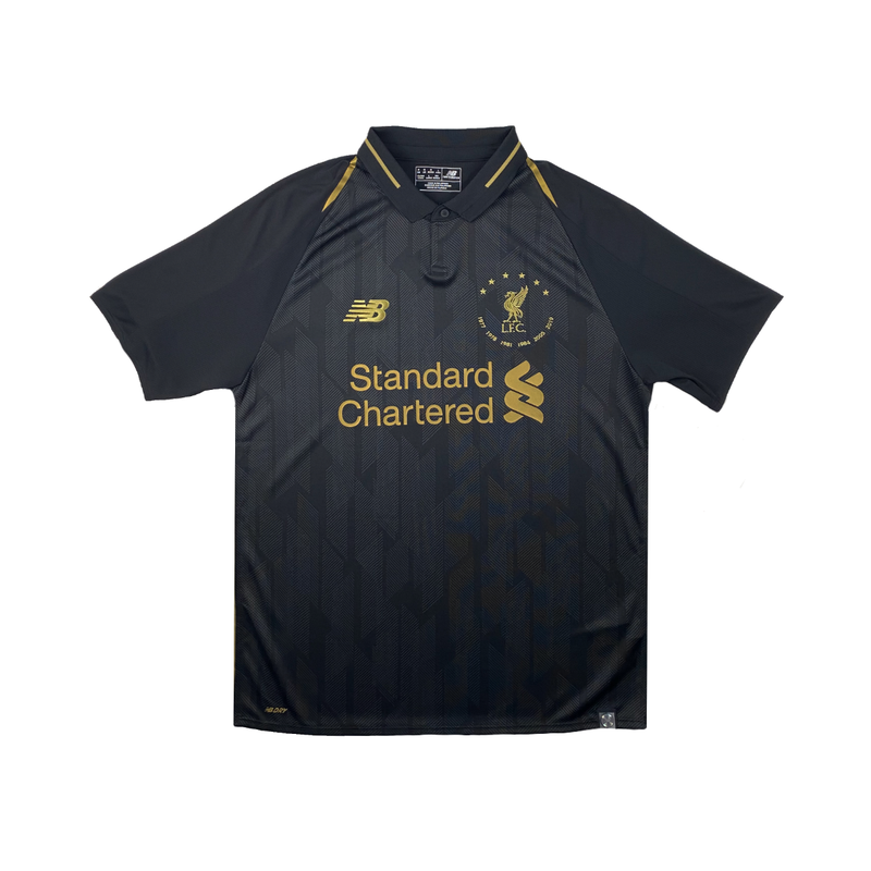 Liverpool 6 Times 18/19 Black Kit