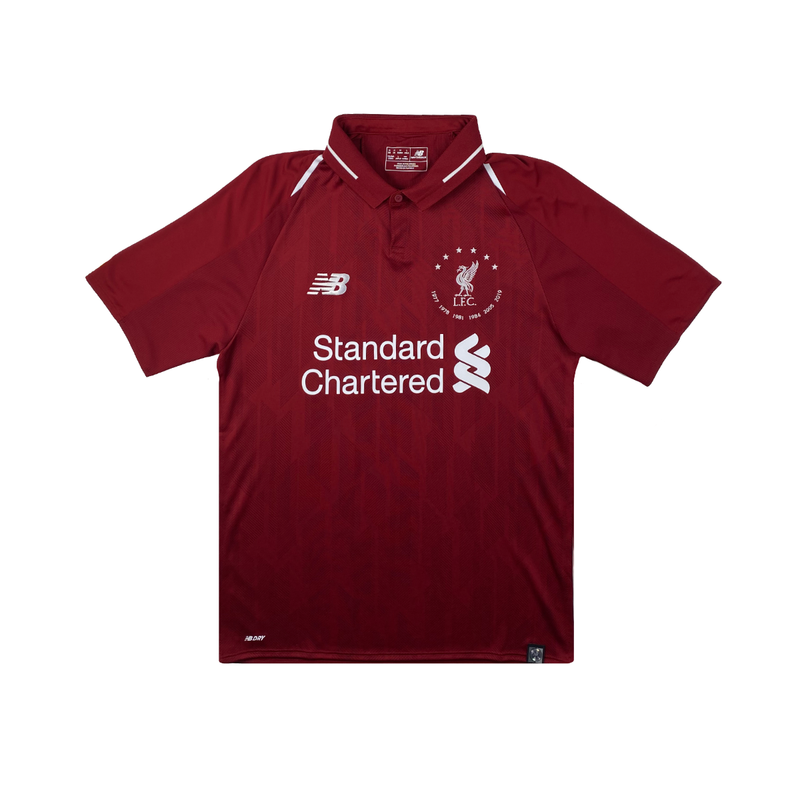 Liverpool 6 Times 18/19 Home Kit