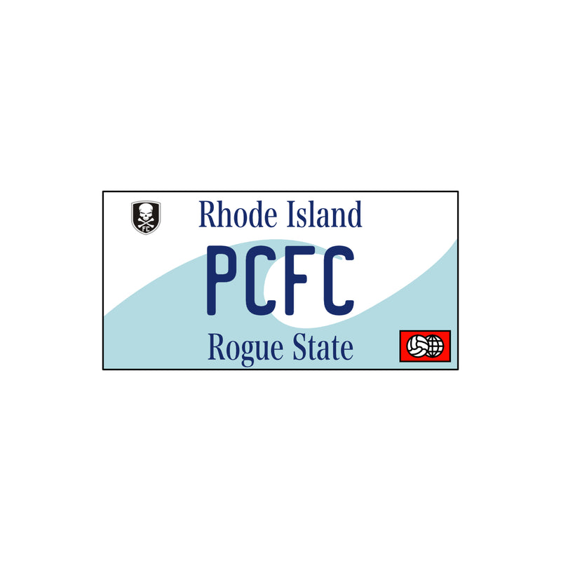 Providence City License Plate Sticker