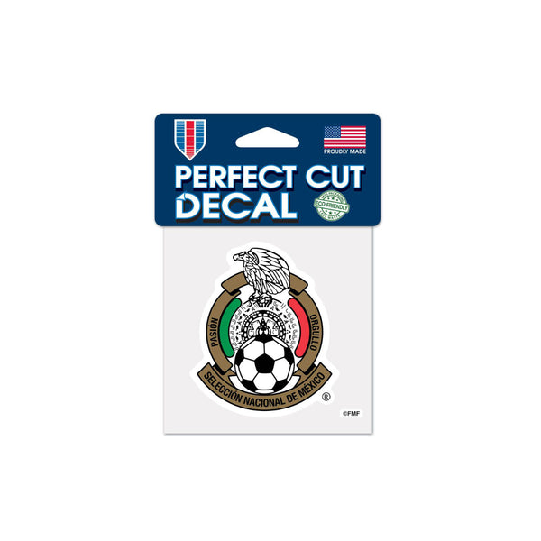 "Mexico National Team 4""x4"" Decal"