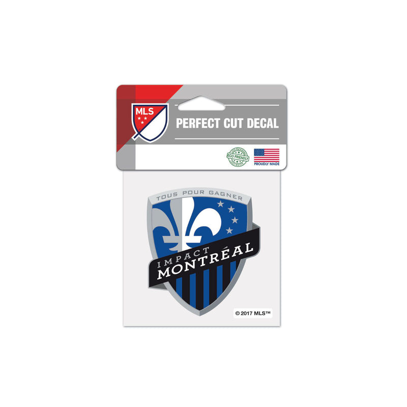 "Montreal Impact 4""x4"" Decal"