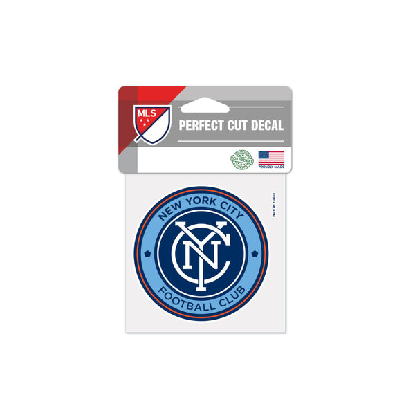 "New York City FC 4""x4"" Decal"