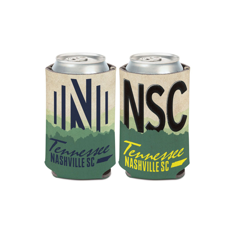 Nashville SC License Plate Can Cooler