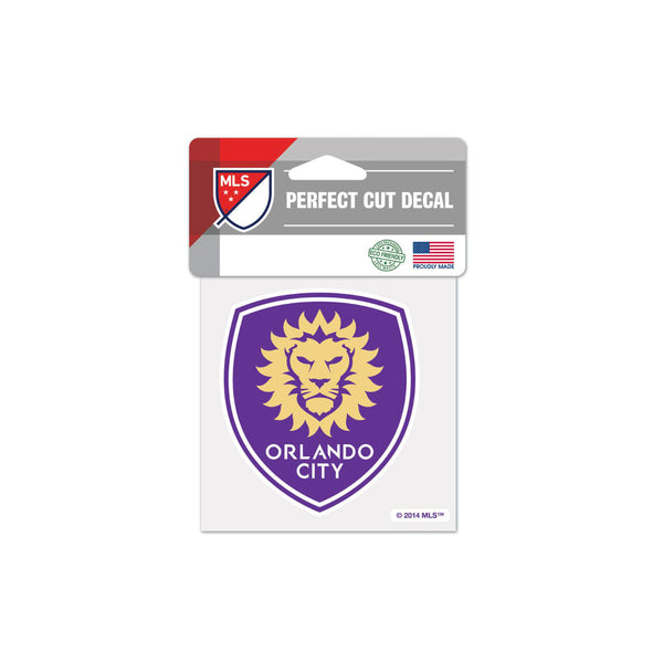 "Orlando City 4""x4"" Decal"