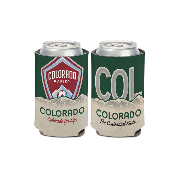 Colorado Rapids License Plate Can Cooler