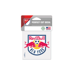 "New York Red Bulls 4""x4"" Decal"