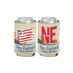 New England Revolution License Plate Can Cooler