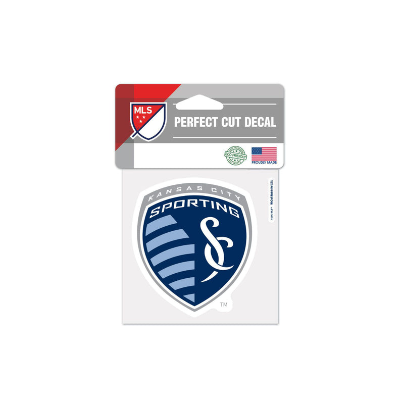 "Sporting Kansas City 4""x4"" Decal"