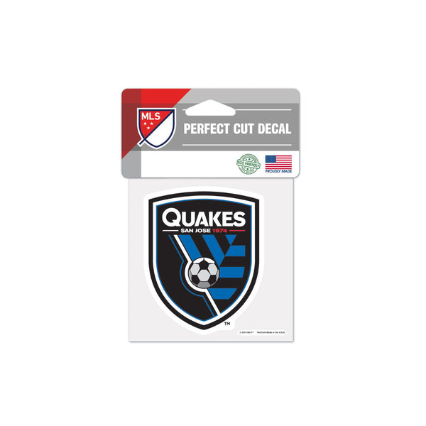 "San Jose Earthquakes 4""x4"" Decal"