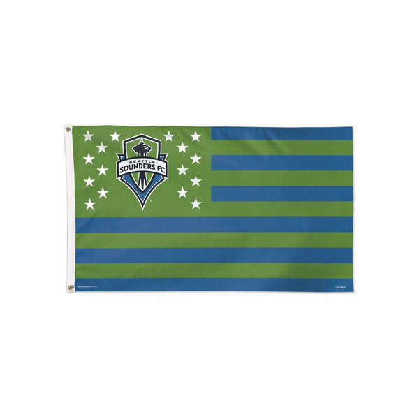 Seattle Sounders Americana Flag