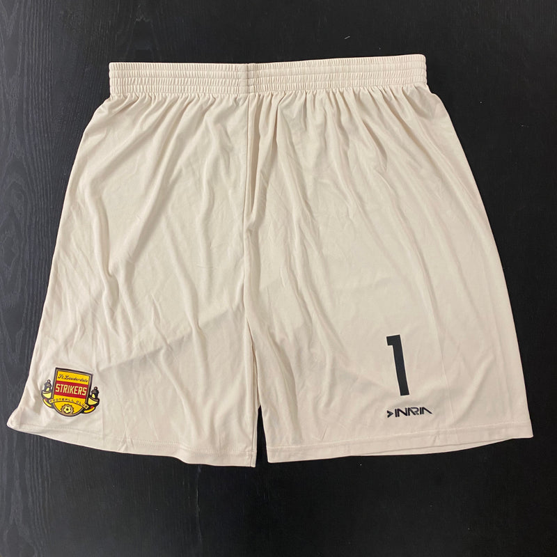 Fort Lauderdale Strikers Tan Shorts (YARD SALE)