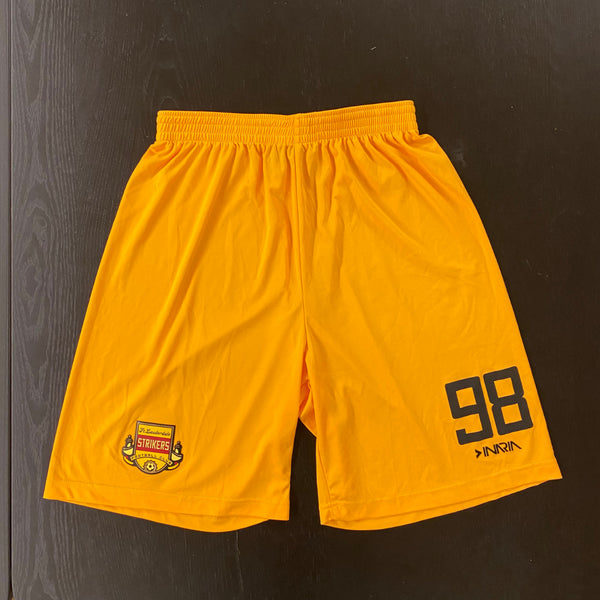 Fort Lauderdale Strikers Yellow Shorts (YARD SALE)