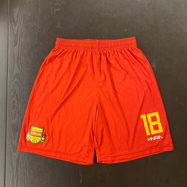 Fort Lauderdale Strikers Red Shorts (YARD SALE)