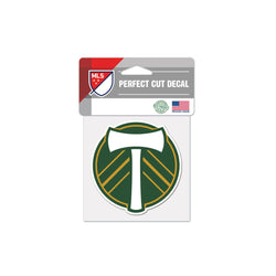 "Portland Timbers 4""x4"" Decal"