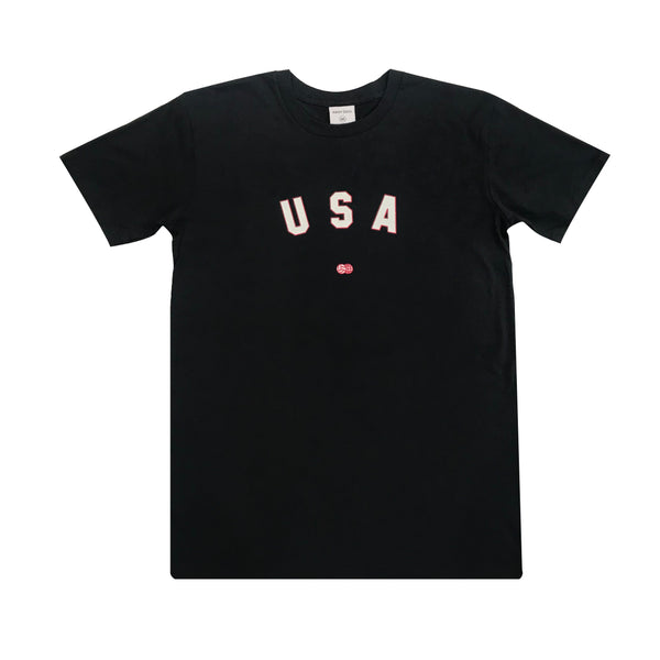 USA Arc T-Shirt Navy