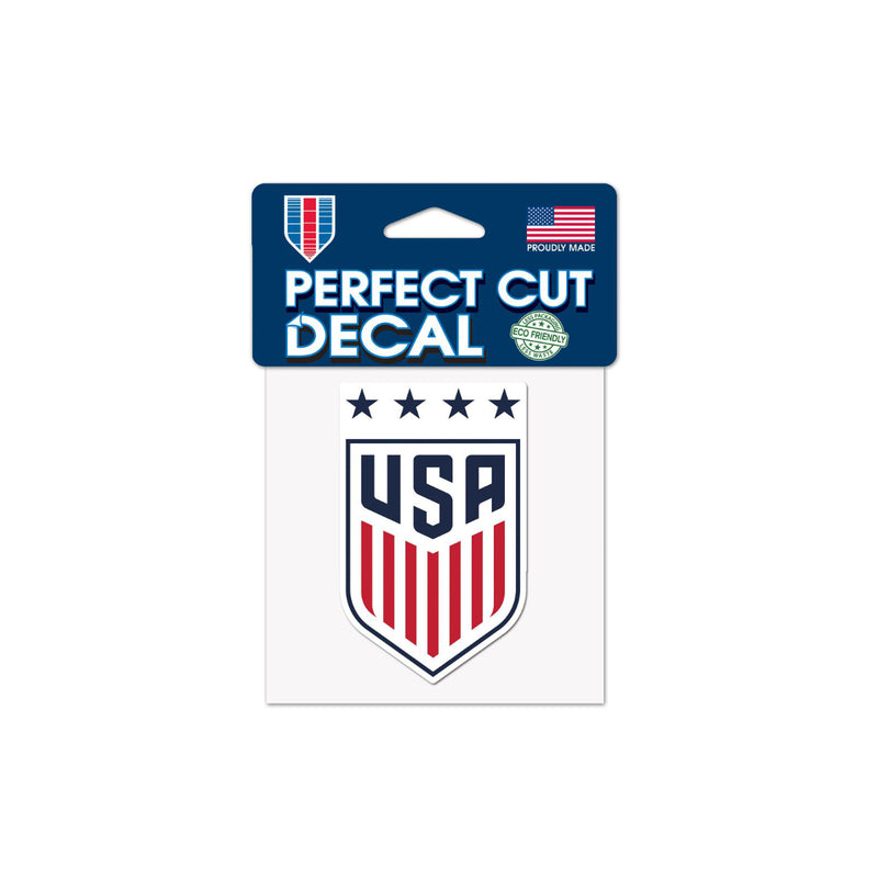 "US Women's National Team 4""x4"" Decal"