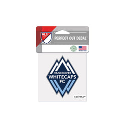 "Vancouver Whitecaps 4""x4"" Decal"
