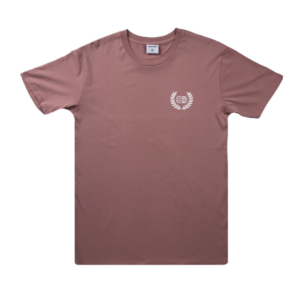 Wreath Logo T-Shirt Rose