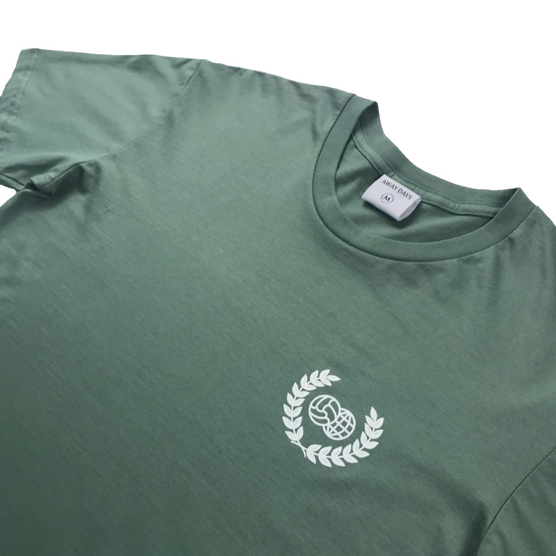 Wreath Logo T-Shirt Sage