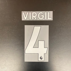 Virgil (Liverpool) Name and Number Set (YARD SALE)