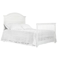 Evolur Belmar Curve 5 in 1 Convertible Crib - bestnurseryfurniture.com