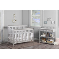 Dream On Me Ashton 5-in-1 Convertible Crib - bestnurseryfurniture.com